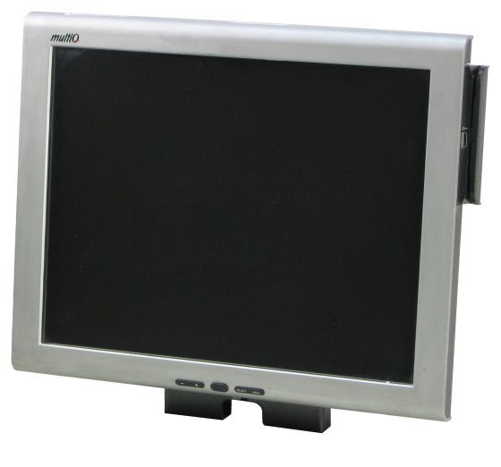 """15"""" Touchscreen TFT-Monitor MultiQ MQ215 1024x768 Monitor ohne Standfuß B- Ware"""