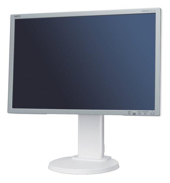 "22"" LCD TFT NEC MultiSync E222W 5ms silber DVI PIVOT 1000:1"