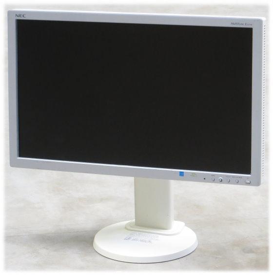 "23"" TFT LCD NEC MultiSync E231W 1920 x 1080 FullHD Pivot Monitor vergilbt"