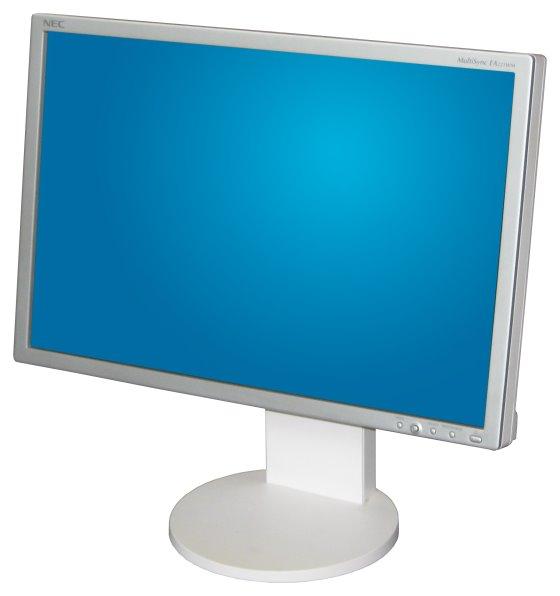 "22"" TFT LCD NEC MultiSync EA221WM Pivot 1680 x 1050 USB-Hub Monitor mit Lautsprecher"
