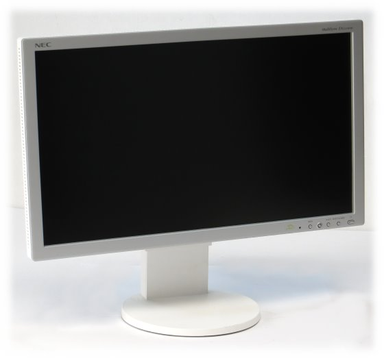 "23"" TFT LCD NEC MultiSync EA232WMi Pivot 1920 x 1080 S-IPS Monitor defekt an Bastler"