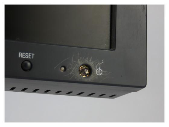 "19"" TFT NEC MultiSync LCD1980 SX Pivot VGA DVI-D DVI-I ohne Powerknopf"