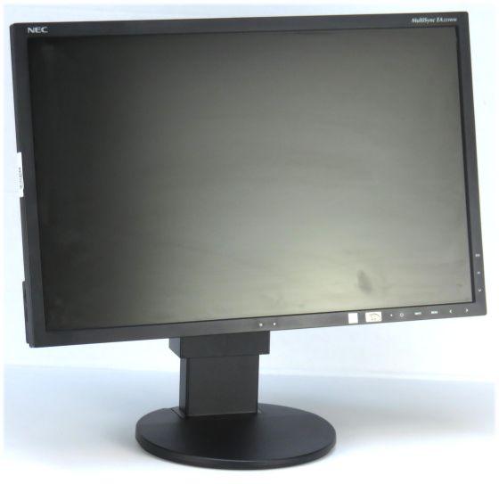 "22"" TFT LCD NEC MultiSync EA223WM-BK Pivot LED Backlight Lautsprecher USB-Hub B-Ware"
