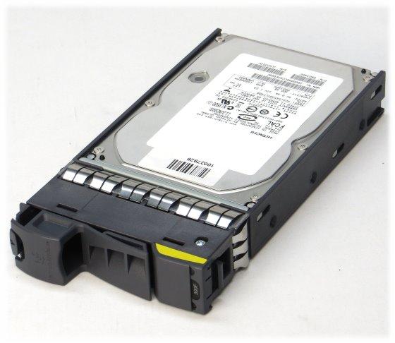 NetApp 300GB 15K FC 40pin HUS154530VLF400 im Tray für Storage DS14