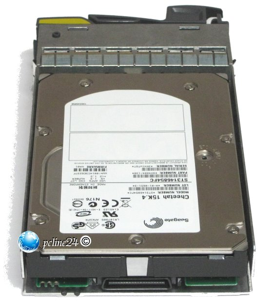 Seagate ST3146854FC 146GB 15K FC 40pin Fibre Channel im Tray NetAPP Network Appliance Storage