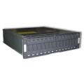 "19"" Rack NetApp DS14-MK2-FC Disk Shelf 14x 146GB Hitachi 2x P/N:106-00100 Module"