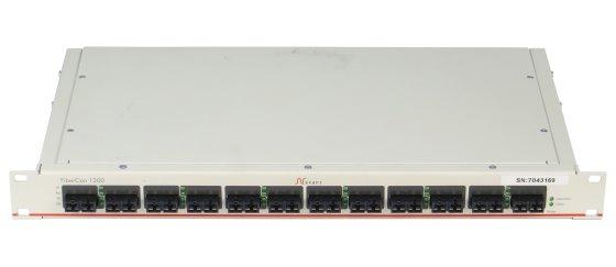 Nexans FiberCon 1200 DS SM(SC) Mediakonverter 12 Port Fibre Channel