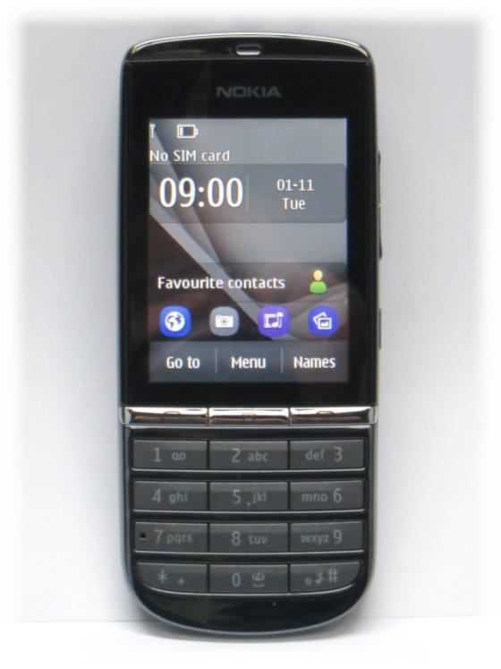 Nokia Asha 300 Smartphone RM-781 Quadband SIMlock-frei B-Ware