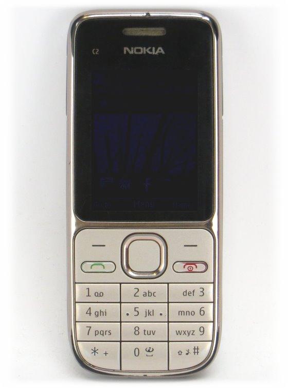 Nokia C2-01 Smartphone ohne Ladegerät defekt an Bastler