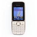 Nokia C2-01 Warm Silber (Ohne Simlock) B-Ware