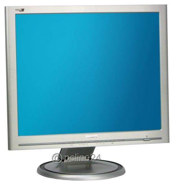 "19"" TFT LCD PHILIPS 190B4 1280 x 1024 D-Sub DVI Monitor"
