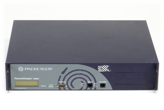 Packeteer PacketShaper PS 4500 Bandbreiten Management im 19 Zoll Rack