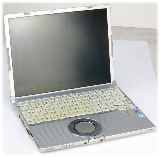 Panasonic Toughbook CF-W4 Pentium M 1,2GHz 1GB 40GB Combo Notebook B-Ware