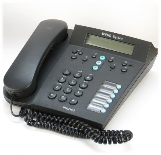 Philips Sopho Ergoline D325-4/DG Business Telefon