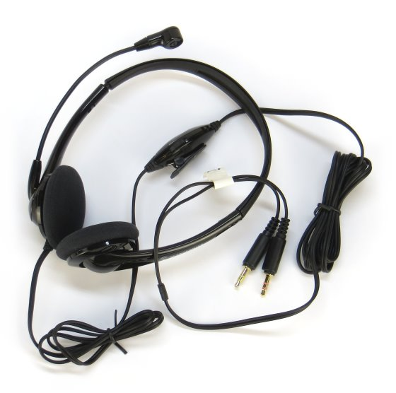 Plantronics Headset Audio 325 für IP-Telefonie Callcenter Skype etc. PLT-PL-76958-11