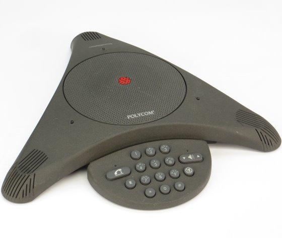 Polycom SoundStation 2201-03308-103 Konferenztelefon Polyspan
