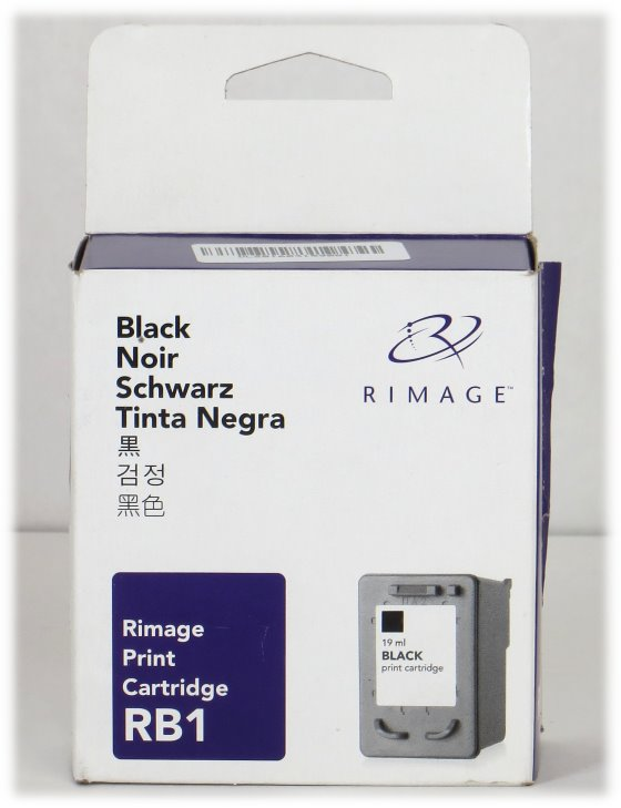 Rimage RB1 NEU/NEW original Schwarz Tintenpatrone