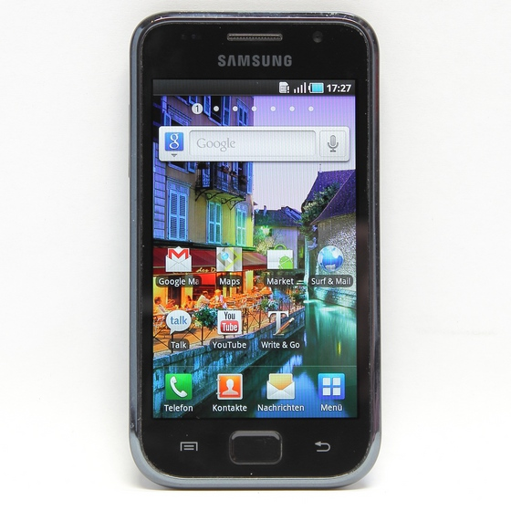 SAMSUNG Galaxy S GT-I9000 8GB Black Android Smartphone (Ohne Simlock) B-Ware