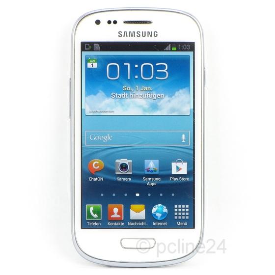 SAMSUNG Galaxy S III S3 mini GT-I8190 weiß B- Ware Smartphone ohne Akku/Ladegerät