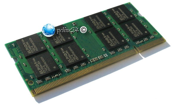 Markenspeicher 1GB PC2-5300 DDR2 667MHz SO-DIMM