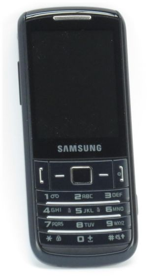 SAMSUNG C3780 GT-C3780 schwarz Tasten Handy Telefon (ohne Akku/Ladegerät) B-Ware