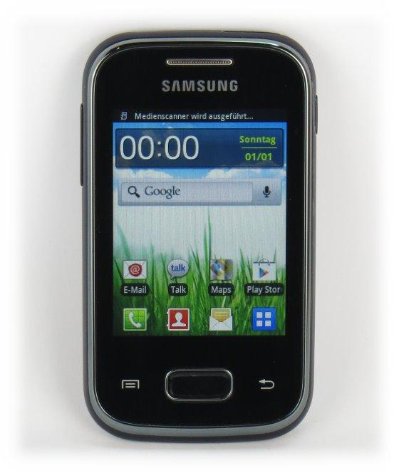 SAMSUNG Galaxy Pocket GT-S5300 Smartphone C- Ware ohne Kabel