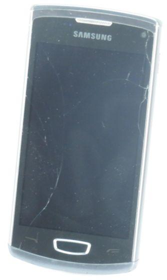 SAMSUNG Wave 3 Smartphone GT-S8600 C-Ware (ohne Akku, Ladegerät) Glasbruch