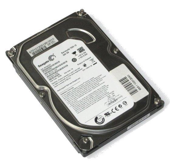 Seagate ST3500413AS 500GB SATA III 6Gb/s 7.200 rpm HDD Festplatte