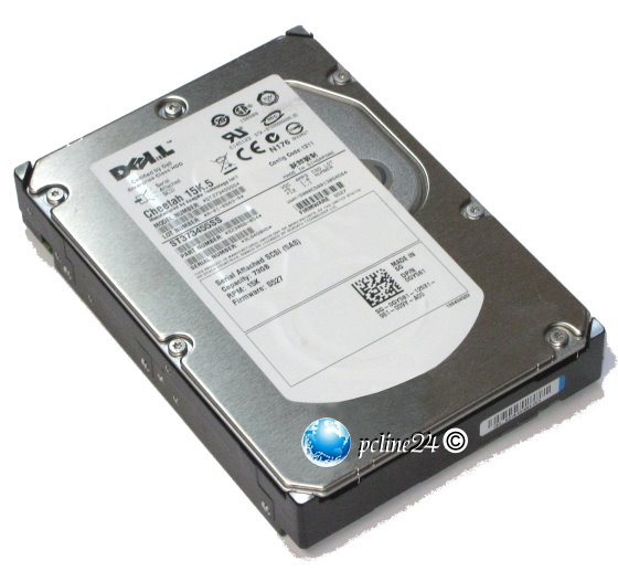 Seagate ST373455SS 72GB 15K SAS Dell P/N 0GY581/GY581