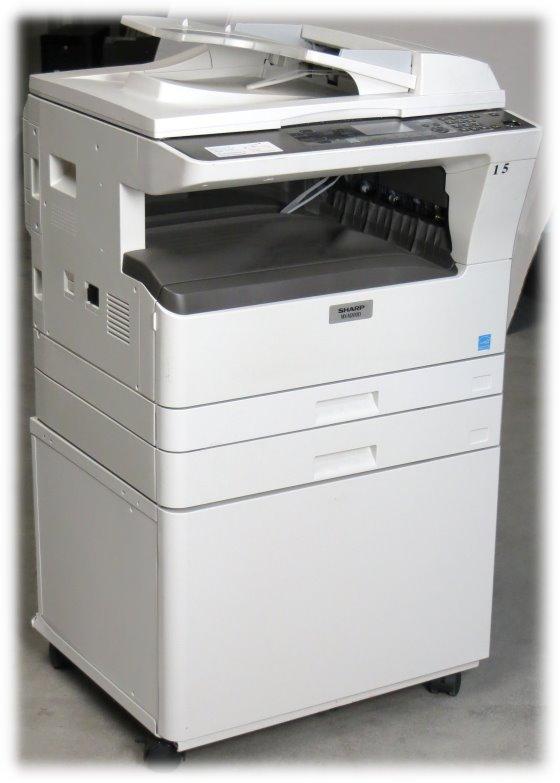 sharp mx m200d all in one kopierer laserdrucker scanner. Black Bedroom Furniture Sets. Home Design Ideas