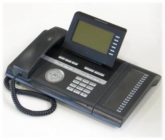 Siemens OpenStage 40 HFA Telefon IP-Systemtelefon mit Key Module 15 schwarz