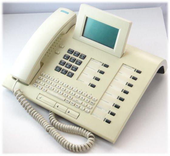 Siemens Optiset E Memory ISDN Telefon mit Tastatur Systemtelefon Hipath Hicom