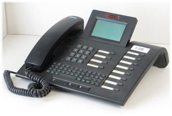 Siemens Optiset E Memory ISDN Systemtelefon mit Tastatur für Hipath Hicom