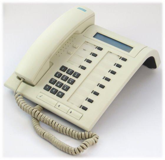 Siemens Optiset E Standard System-Telefon vergilbt