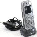Siemens optiPoint WL2 Prof WLAN SIP Telefon Mobilteil mit Ladeschale