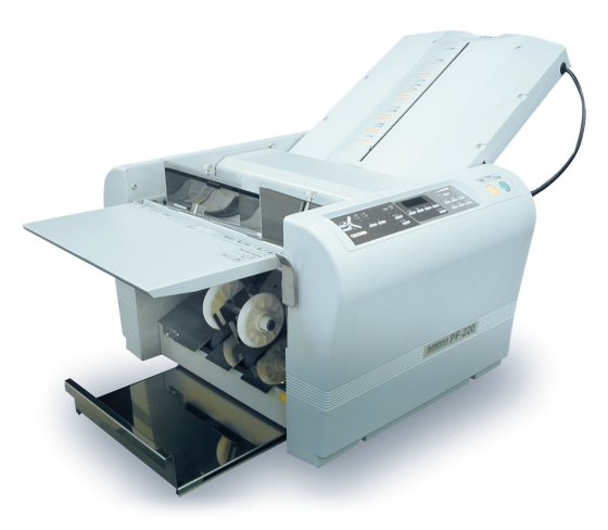 superfax pf 220 falzmaschine 6 falzarten f r formate din. Black Bedroom Furniture Sets. Home Design Ideas