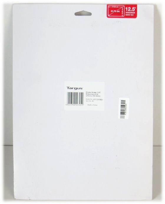 "Targus Privacy Screen 12.5"" Blickschutzfilter NEU für Laptop Notebook"