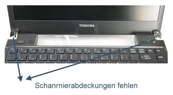 Toshiba Portege R830 Core i5 2520M @ 2,5GHz 4GB DVD±RW (ohne HDD/Akku) B-Ware