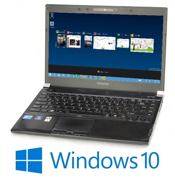 Toshiba Portege R830 i5 2520M 2,5GHz 4GB 320GB DVDRW Webcam UMTS HDMI Windows 10 Pro