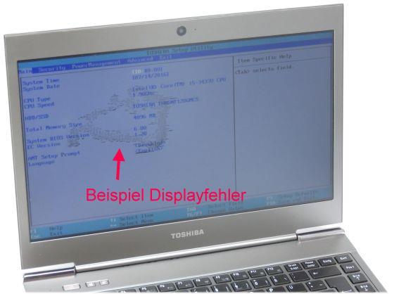 Toshiba Portege Z930 Core i5 3437U @ 1,90GHz 4GB 128GB SSD Webcam UMTS C-Ware