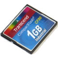 Transcend 1GB CF80 Compact Flash Karte Industrial CF 80x