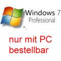 Windows 7 Pro/Professional Rfb SP1 deutsch 32/64bit