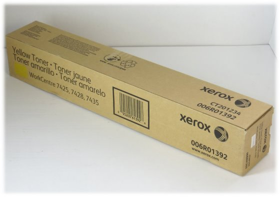 Xerox 006R01392 Toner original gelb NEU/NEW für WorkCentre 7425 7428 7435