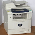 Xerox Phaser 3635MFP All-in-One FAX Kopierer Drucker Scanner 32.750 Seiten vergilbt