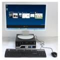 """Büro Komplett PC-System Intel i3 3,3GHz + 24"""" TFT-Monitor + Win 10 Pro 64bit"""