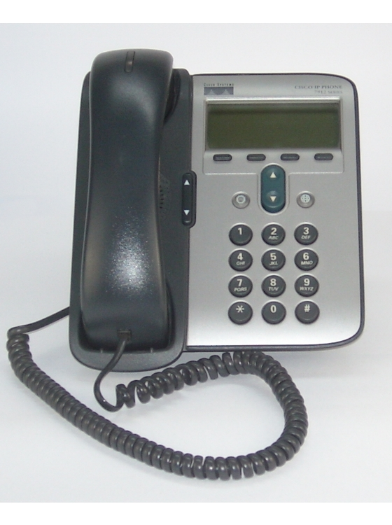 Cisco IP-Phone CP-7912G VoIP Telefon PoE