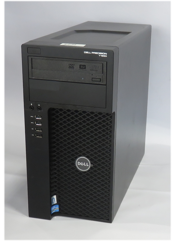Dell Precision T1650 Xeon Quad Core E3-1240 V2 @ 3,4GHz 8GB 750GB DVD±RW B-Ware