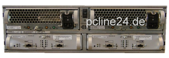 EMC² Clariion DAE2 CX Disk Array mit 15x 72GB