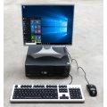 """Komplett PC System FSC Esprimo + 19"""" TFT + Win 10 inkl. Maus & Tastatur"""