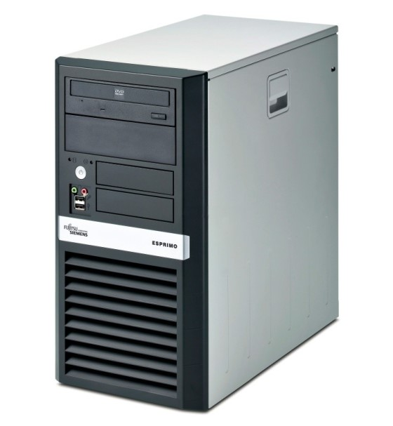 FSC Esprimo P5625 Athlon 64 X2 Dual Core 5000+ @ 2,6GHz 2GB DVD ohne Festplatte